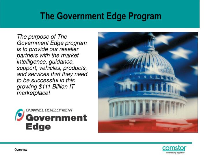 The Government Edge Program