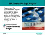 the government edge program