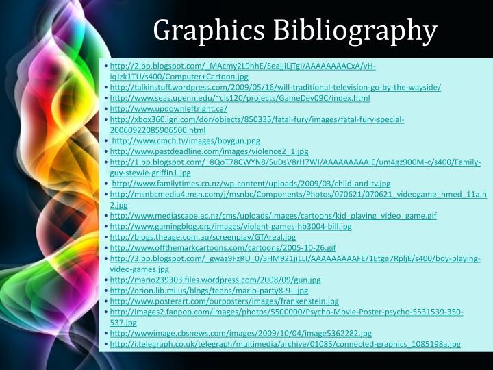 Graphics Bibliography