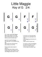 little maggie key of g 2 4