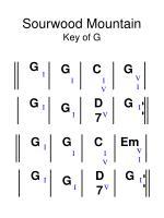 sourwood mountain key of g