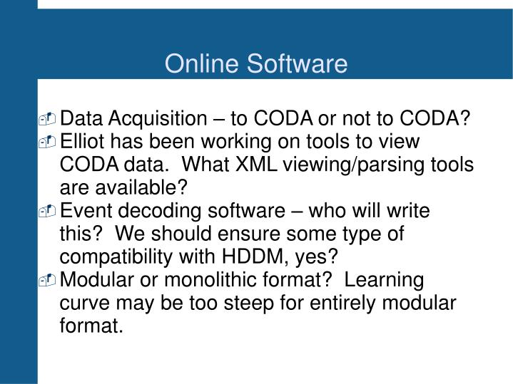 Online Software