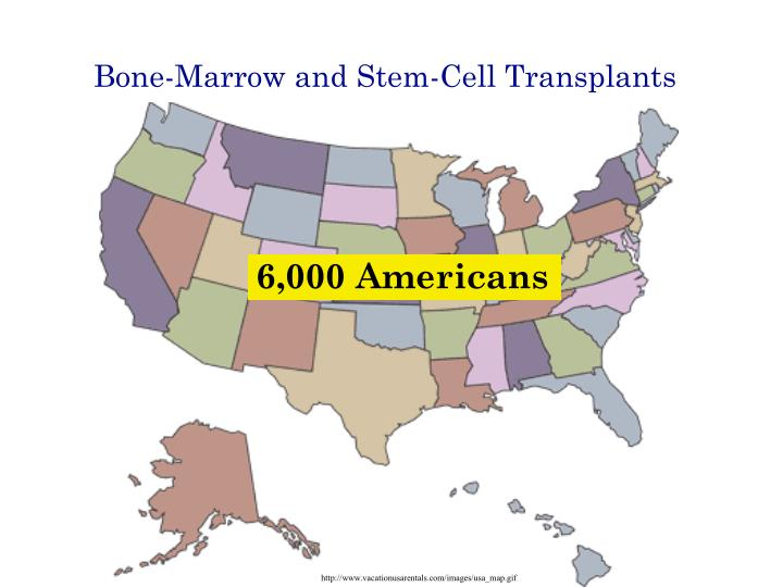 Bone marrow and stem cell transplants