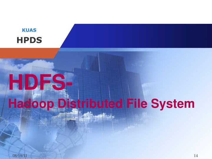 HDFS-