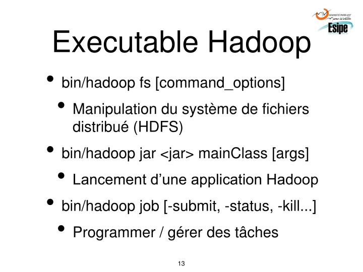 Executable Hadoop