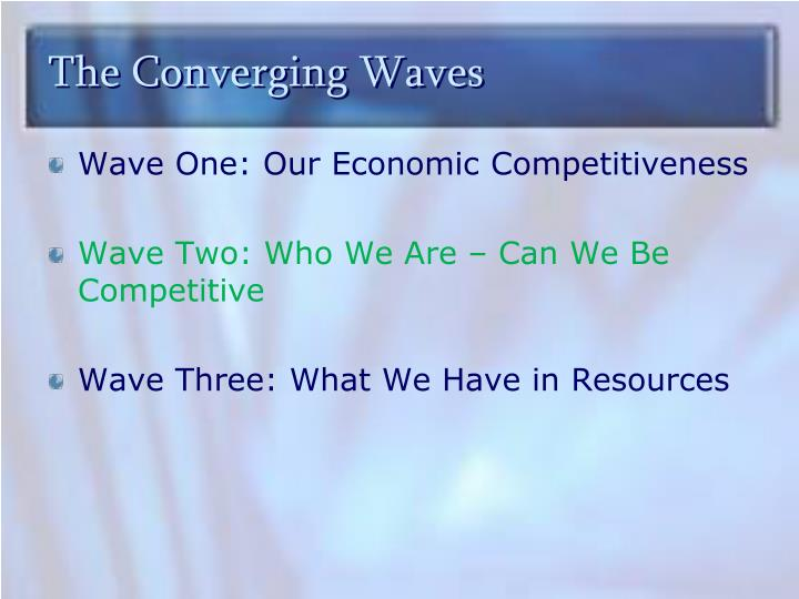 The Converging Waves