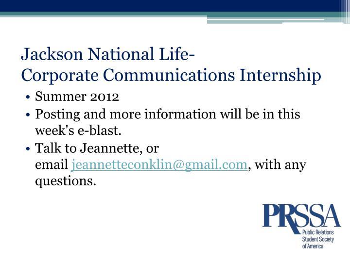 Jackson National Life-