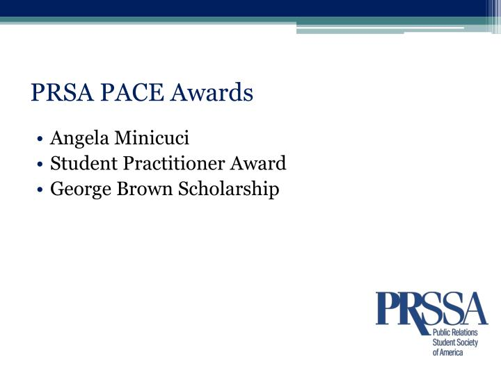 Prsa pace awards