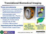 translational biomedical imaging