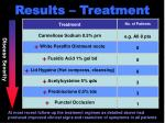 results treatment
