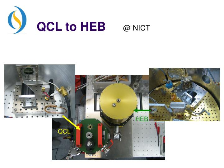QCL to HEB