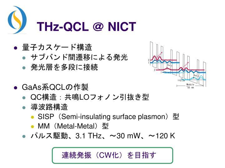 THz-QCL