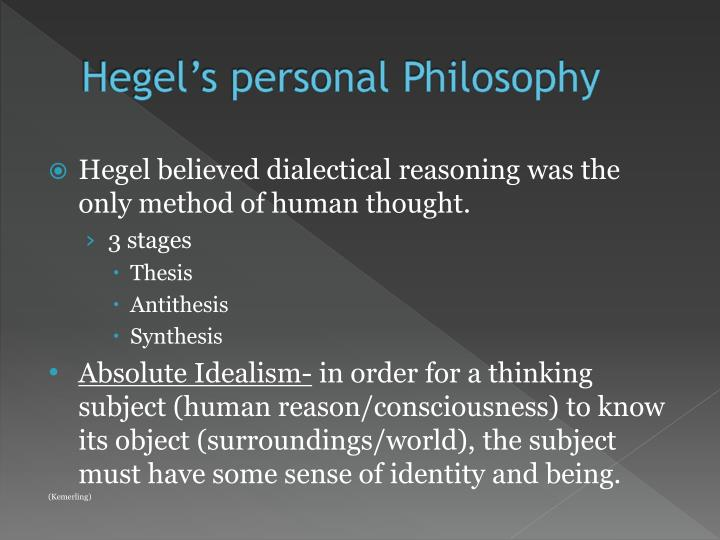 dialectical thought thesis antithesis University of tennessee honors thesis projects university of tennessee honors program 5-2008 a study of dialectical theory and its relation to an antithesis.