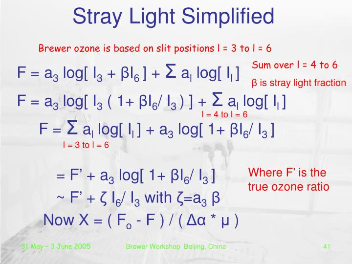 Stray Light Simplified