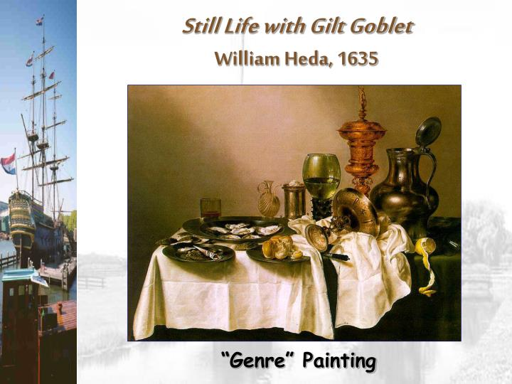 Still Life with Gilt Goblet