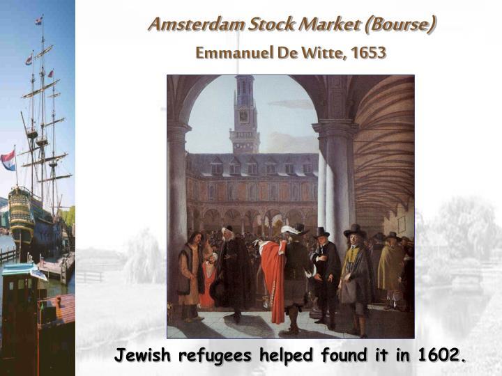 Amsterdam Stock Market (Bourse)