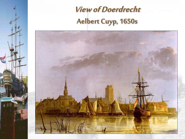 View of Doerdrecht