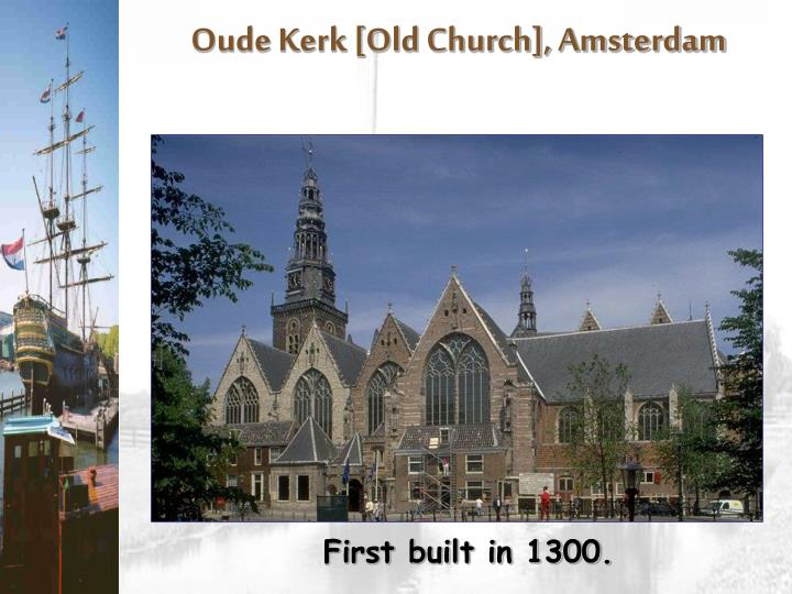 Oude Kerk [Old Church], Amsterdam
