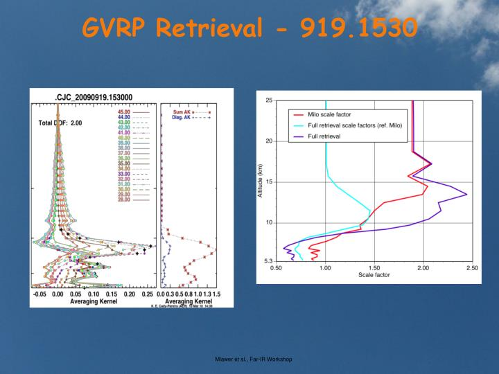 GVRP Retrieval - 919.1530