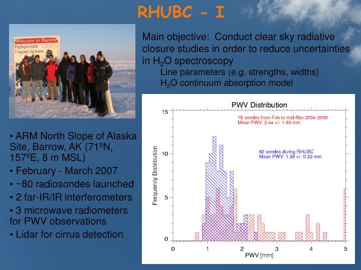 RHUBC - I