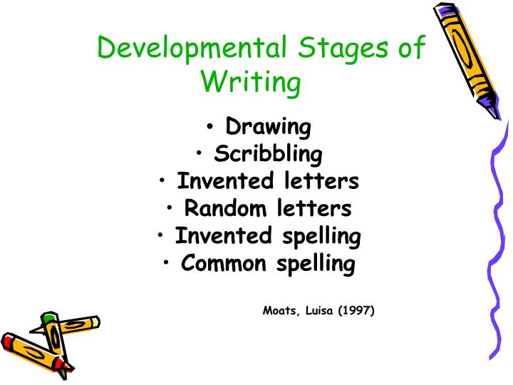 Developmental Stages of Writing