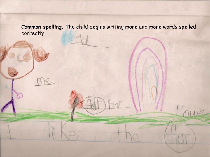Common spelling.