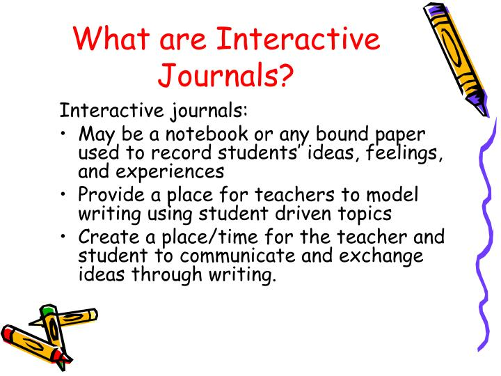 What are Interactive Journals?