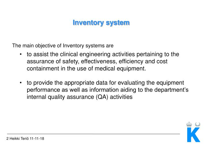 Inventory system1