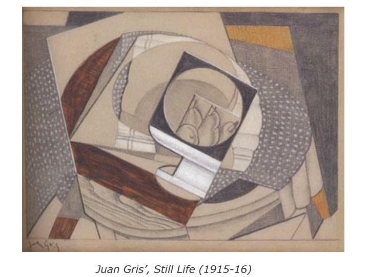 Juan Gris', Still Life