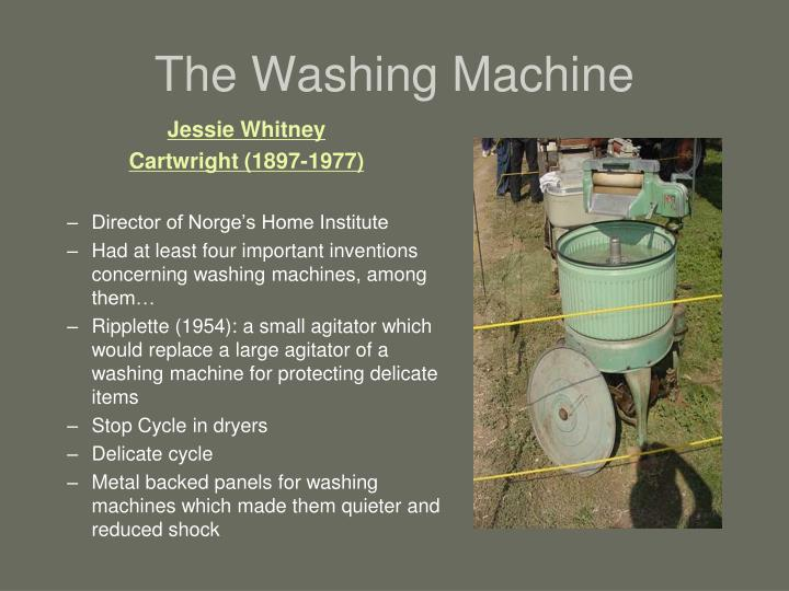 The Washing Machine