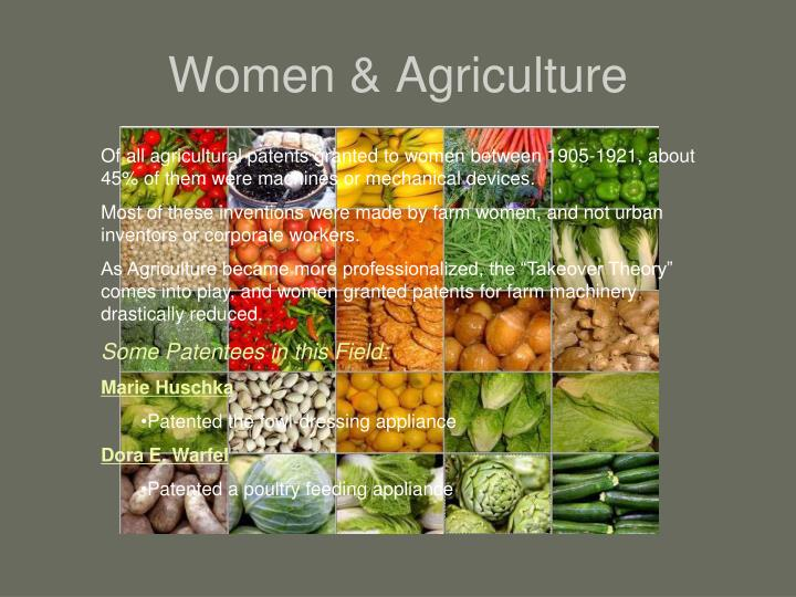 Women & Agriculture