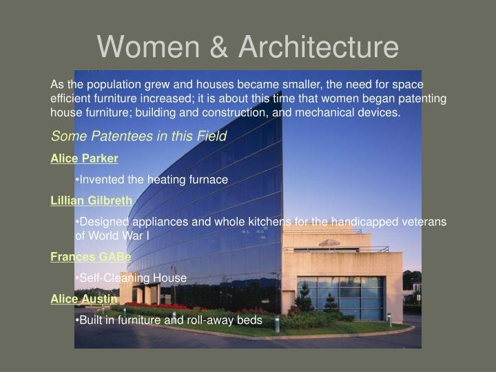 Women & Architecture