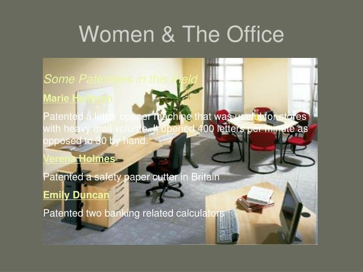 Women & The Office