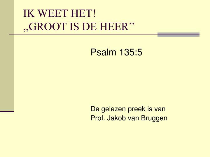Psalm 135:5