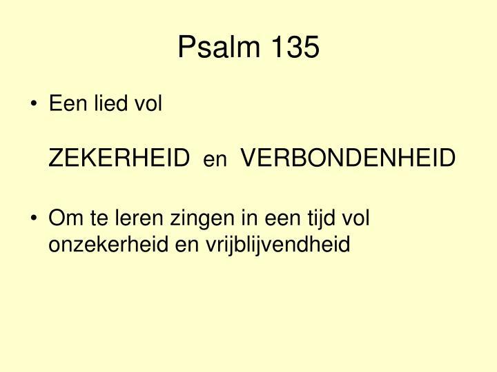 Psalm 135