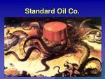 standard oil co