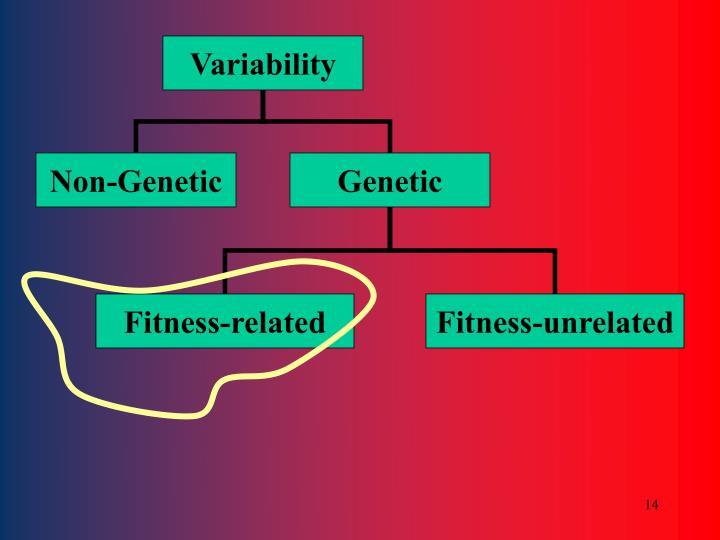 Non-Genetic