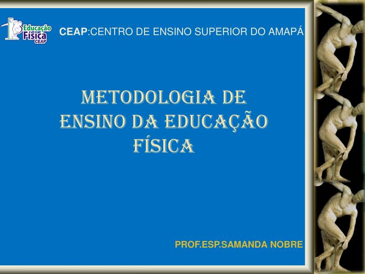 Ceap centro de ensino superior do amap