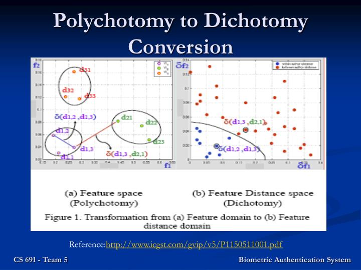 Polychotomy to Dichotomy Conversion