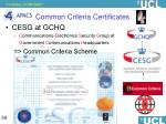common criteria certificates