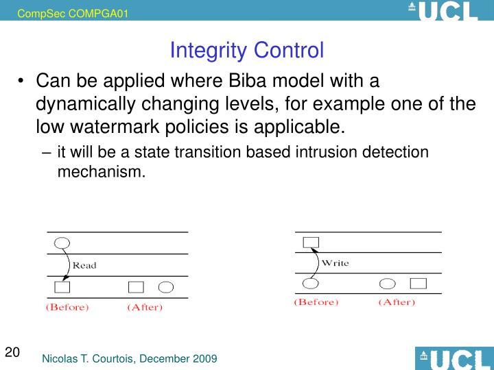 Integrity Control