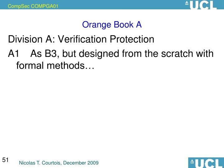 Orange Book A