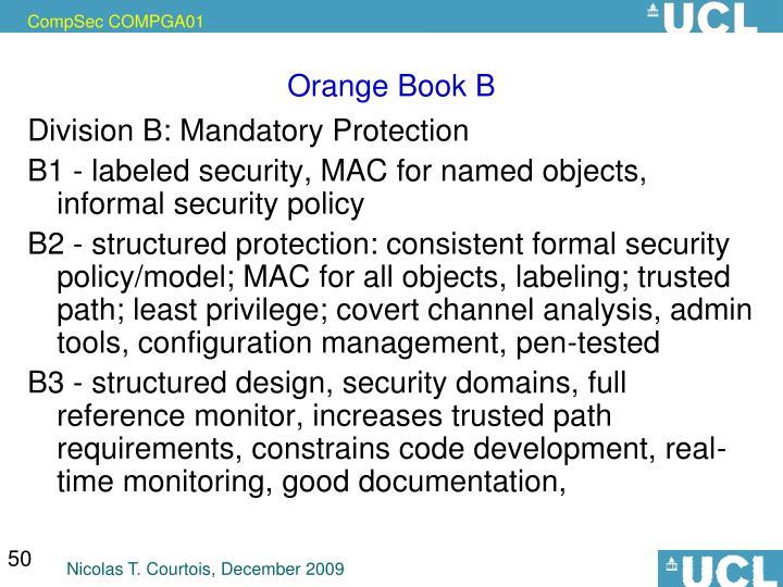 Orange Book B