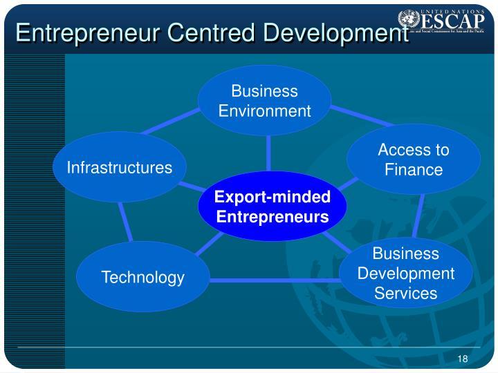 Entrepreneur Centred Development