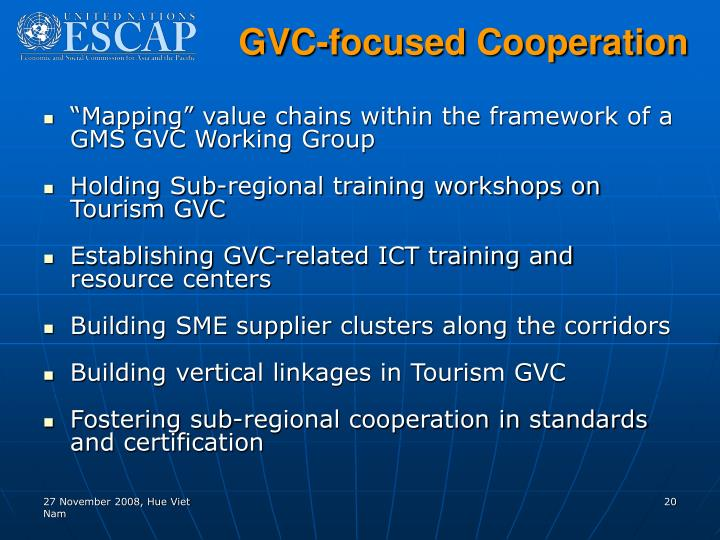 GVC-focused Cooperation
