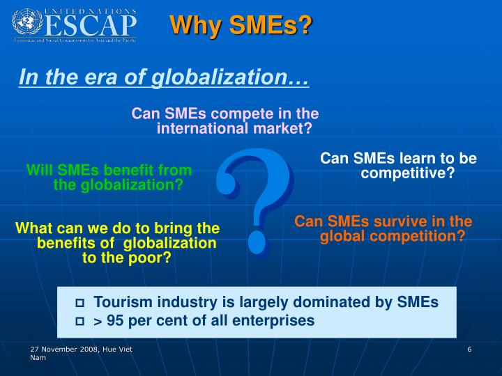 Why SMEs?