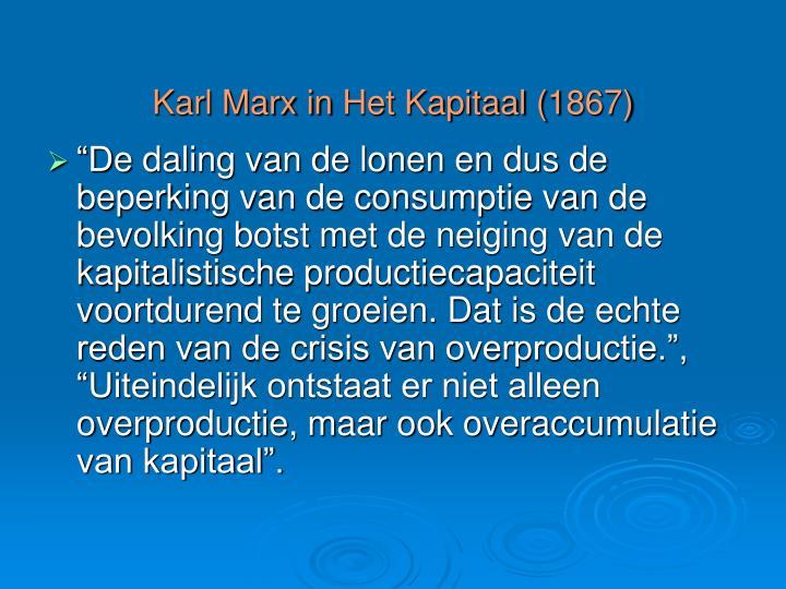Karl Marx in