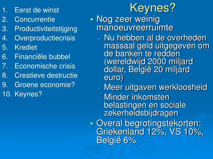 Keynes?