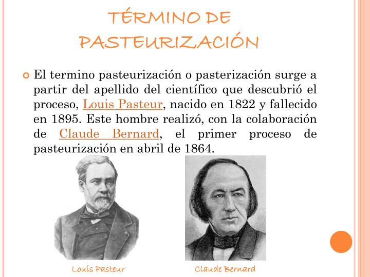 TÉRMINO DE PASTEURIZACIÓN