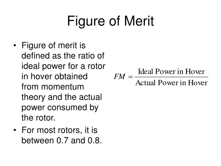 Figure of Merit